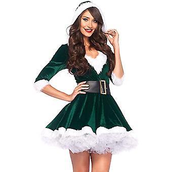 kvinner julekostyme mrs claus kostyme sett