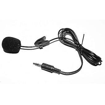 Microphone à revers clip-on externe 3.5mm Jack