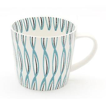 ECP Design Skane Twist Single Mug, Teal