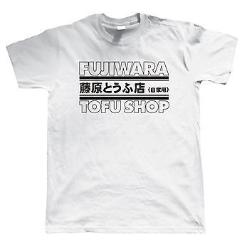 Fujiwara tofu Shop T-paita-Hachi-Roku JDM Drift AE86 Corolla Levin TRUENO