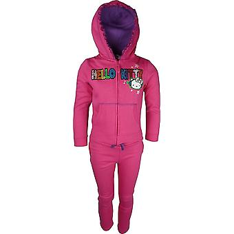 Girls Hello Kitty Tracksuit Jogging Suit HO1412