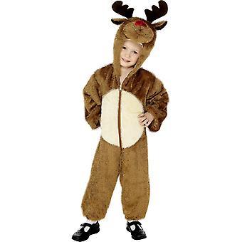 Rentierkostüm  KINDER Rentier Weihnachten Kostüm