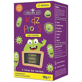 Natures Aid Kidz Pro-5 (Daily Microbiotic) 90g