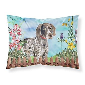 German Shorthaired Pointer Spring Fabric Standard Pillowcase