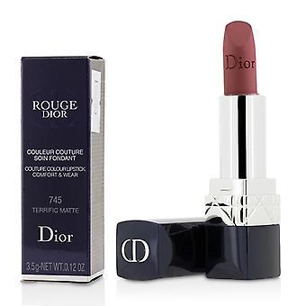 Christian Dior Rouge Dior Couture kleur Comfort & Wear Matte Lipstick - # 745 geweldig mat - 3.5g/0.12oz