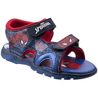 Leomil drenge & piger Spiderman justerbar letvægts Sporty sandaler