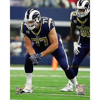 Andrew Whitworth 2017 Action Photo Print