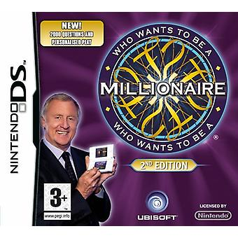 Who Wants to be a Millionaire - 2nd Edition (Nintendo DS) - Als nieuw