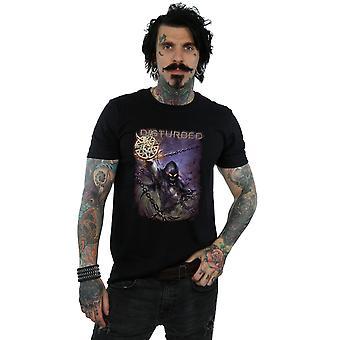 Häiriintynyt Vortex ketjut t-paita