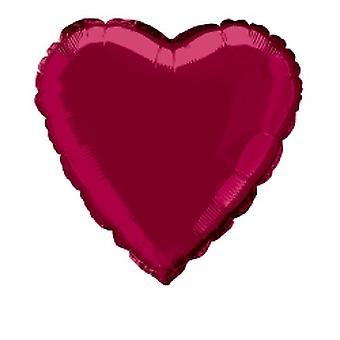 Folie ballon hart solide metalen Bourgondië