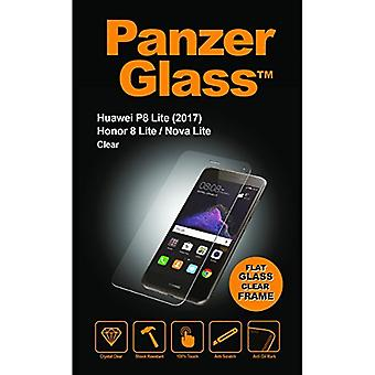 PanzerGlass Crystal Clear Screen Protector for Huawei P8 Lite 2017/Honor 8 Lite/Nova Lite