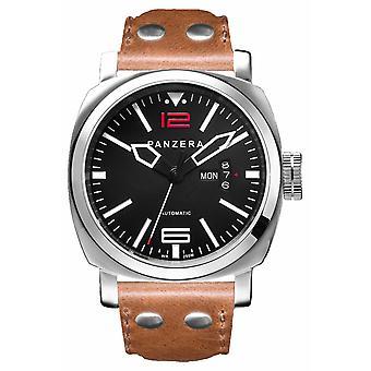 Panzera Aquamarine 45 Atlantic Aspire | Brown Leather A45-01B Watch