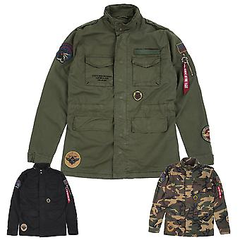 Alpha industries men's jacket Huntington patch