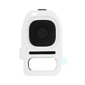 Für Samsung Galaxy S7/S7 Edge - hinten Kamerahalter mit Objektiv - weiß