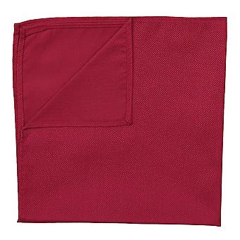 Tango Red Panama Silk Pocket Square