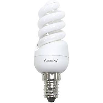 LightMe Energy-saving bulb EEC: A (A++ - E) E14 95 mm 230 V 8 W = 39 W Warm white Spiral shape 1 pc(s)