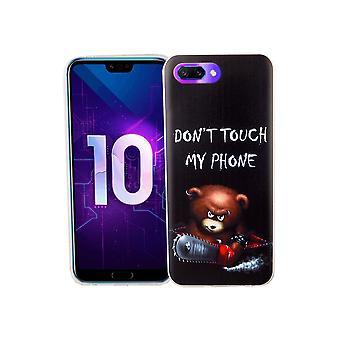 Huawei honor 10 mobiltelefon fall skyddande fall cover stötfångare rör inte min telefon Björn