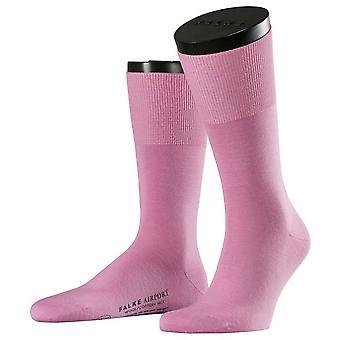Falke Airport Socks - Peony Pink