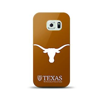 5 Pack - Mizco Sports NCAA Snapback TPU Case for Galaxy S6 (Texas Long Horns)