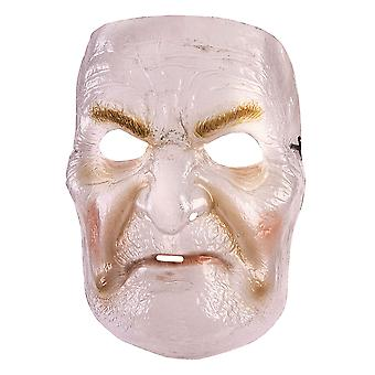 Transparent Old Lady Mask
