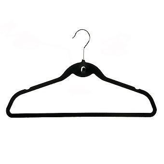 Russel Pack of 5 Black Multi Hangers