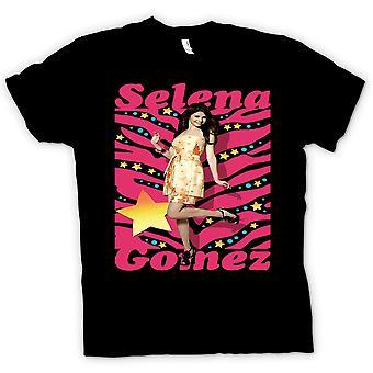 Koszulka męska - Selena Gomez - sukienka