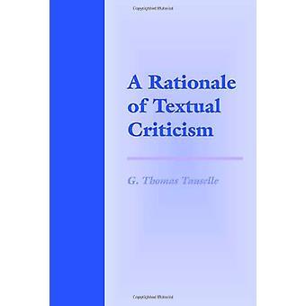 En motivering av textkritik av G.Thomas Tanselle - 9780812214093