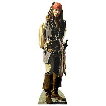 Captain Jack Sparrow  Lifesize Cardboard Cutout / Standee  - Johnny Depp / Pirates Of The Caribbean