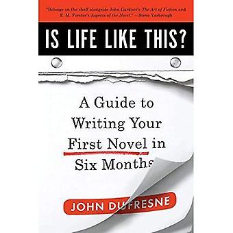 É a vida desse jeito?: um guia para escrever seu primeiro romance em seis meses