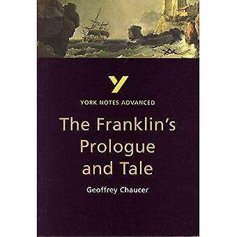 Conte de la Franklin par Geoffrey Chaucer (Notes de York avancés)
