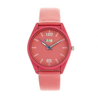 Crayo Dynamic Unisex Watch - Pink