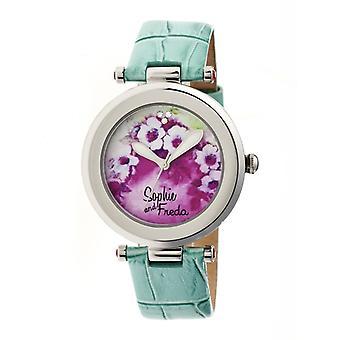 Sophie & Freda Versailles Ladies Watch - Turquoise