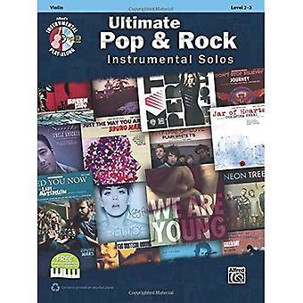 Ultieme Pop Instrumental Solos for Strings: viool, boek & CD