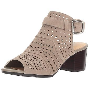 Bella Vita naisten Fonda nahka avoin kärki rento Slingback sandaalit