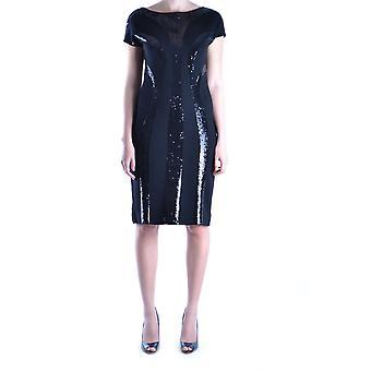 Alberta Ferretti Ezbc027003 Women's Black Wool Dress