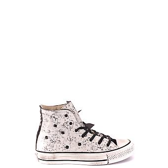 Converse Ezbc119041 Women's White Leather Hi Top Sneakers