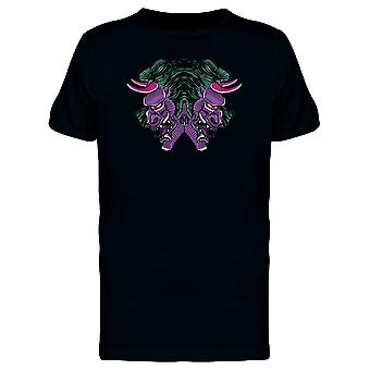Purple Oni Demon Tee Men-kuva: Shutterstock