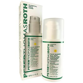 Peter thomas roth max sheer all day moisture defense face lotion spf 30 1.7 oz