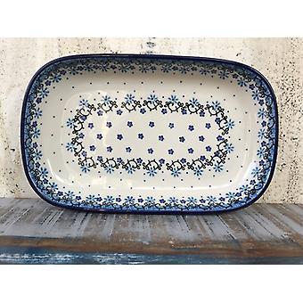 Ciotola / piatto, 26 x 16 x 3 cm, Fleur delicato - BSN J-4629