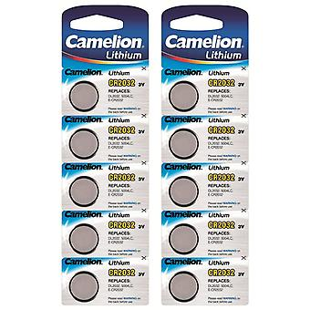 Camelion Lithium Battery CR2032 10-pack