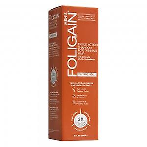 Foligain Shampoo for Men - Stimulating Formula with 2% Trioxidil - Shampoo for Thinning Hair - Helps cleanse the hair and remove product build-up