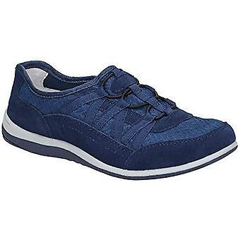 Fleet & Foster Womens/damer Dahlia mocka läder slip på skor