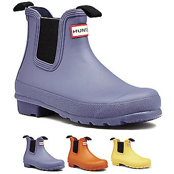 Womens Hunter Original Chelsea Festival Wellies Winter Rain Ankle Boots