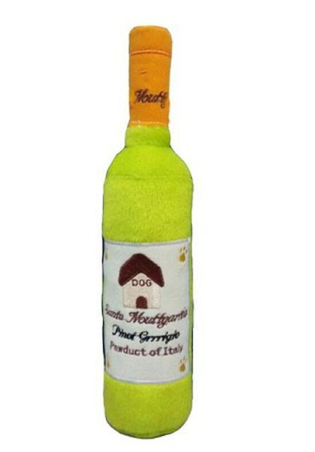 Santa Muttgarita Pinot Grrrigio Wine Bottle