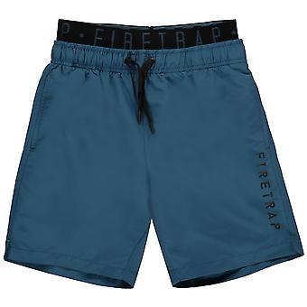 Firetrap Jungen Swim Shorts Junior Kids