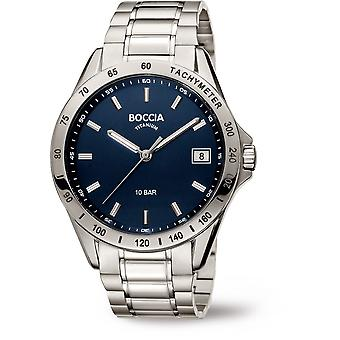 Boccia Titanium 3597-01 Miesten Watch