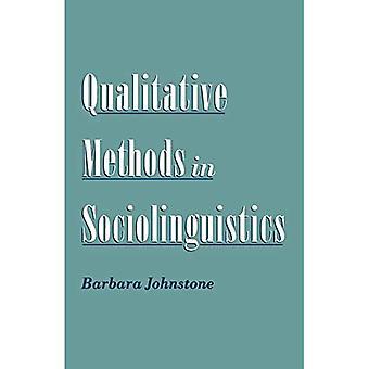 Kvalitative metoder i Sociolinguistics