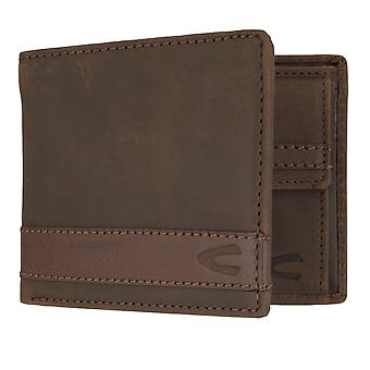Camel active mens wallet wallet purse with RFID-chip protection Brown 7308