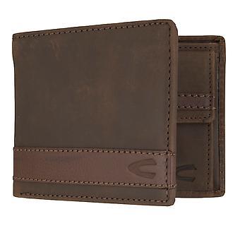 Camel active mens wallet portefeuille sac à main avec protection puce RFID Brown 7308