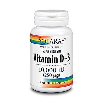 Solaray Vitamin D3 10000iu Capsules 60 (40099)